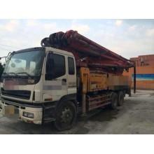 出售09年3桥三一46米泵车。