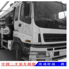2008年4月中联37米泵车
