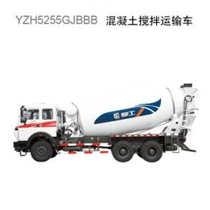 柳工YZH5255GJBHW搅拌运输车